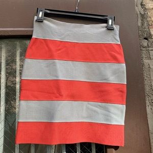 Herve Leger body con skirt